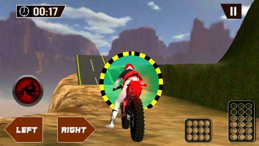 山摩托车赛车模拟器&骑手游戏