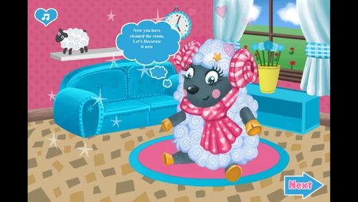 小绵羊打扫房间-星梦幻的精品公主的漂亮宝宝