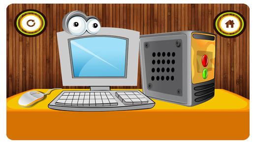 电脑维修店 - 疯狂的机械师及机器修复它游戏的孩子