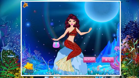 美人鱼沙龙—经典美容&换装&化妆游戏