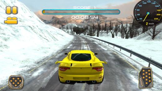 冷冻赛车速度漂移赛车
