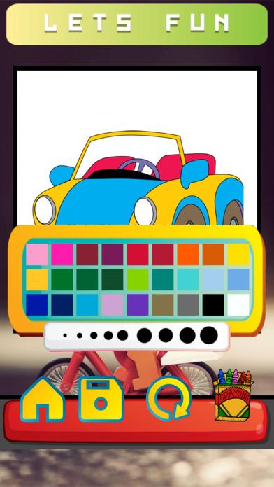 辆车彩图图片绘图页设置