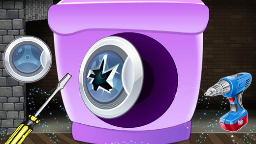 洗衣机维修车间 - 机械比赛