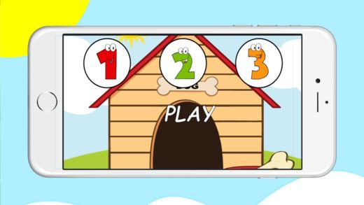 排序数字游戏学龄前孩子教育