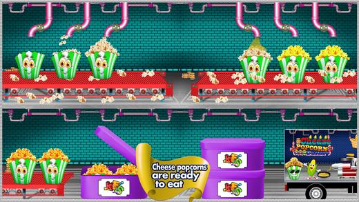 奶酪爆米花工厂 - 容易烹饪游戏