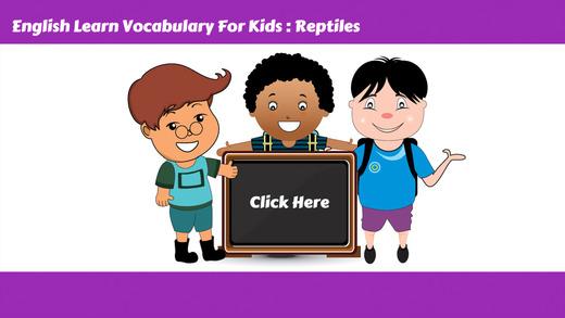 学习英语词汇第4课:为孩子们的学习教育游戏和初学者免费