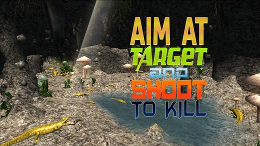 鳄鱼猎人模拟器3D - 杀死致命的食肉动物在此拍摄模拟游戏