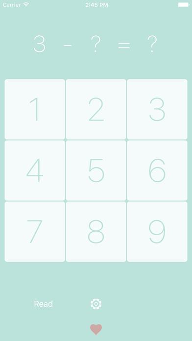 99减法表 - 智力开发