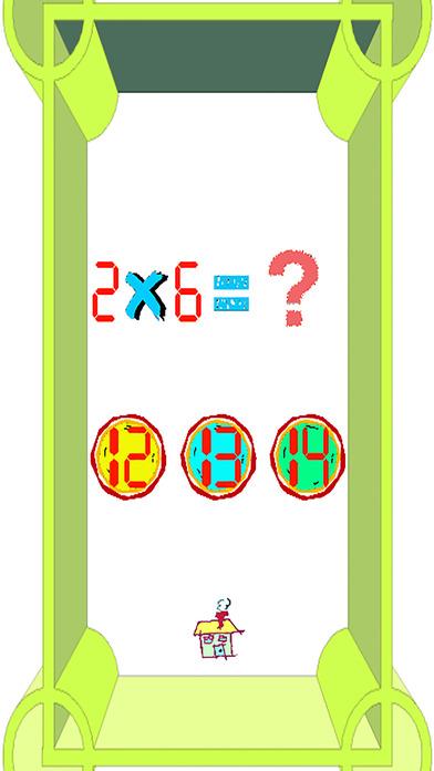 乘法表的第2和第3级