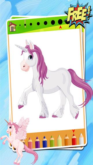 我的小马着色书公主女孩对于