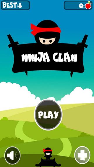 Ninja Clan Jump - 跳过 遨游 金星 中文游戏