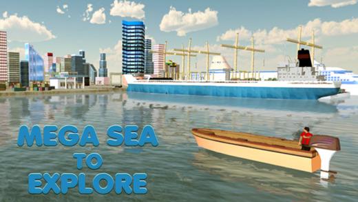RC摩托艇Simulator-真正的3D巨型船舶驾驶