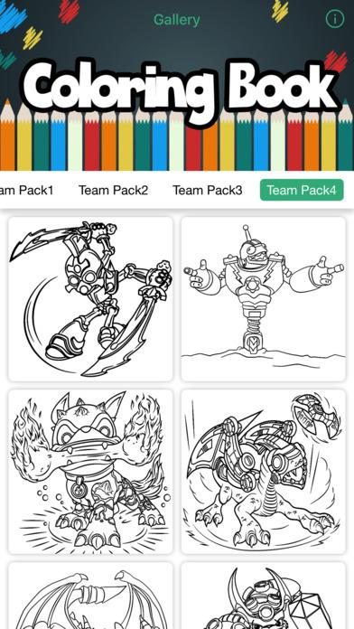 Skylanders彩图对于Imaginators造物主