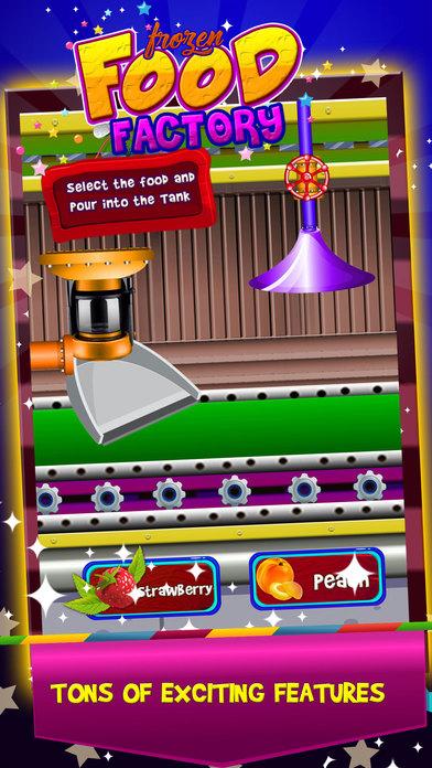 冷冻食品厂 - 儿童食品烹饪游戏