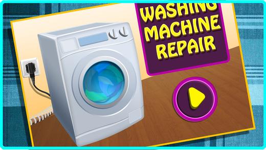 洗衣机维修 - 修复的机器在这个疯狂的机械游戏的孩子