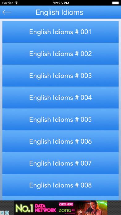英语习语和短语乌尔都语