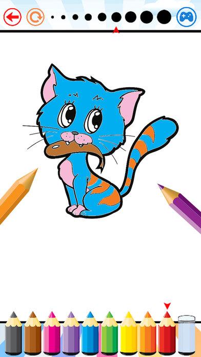 狗&猫着色书 - 所有在1动物绘画