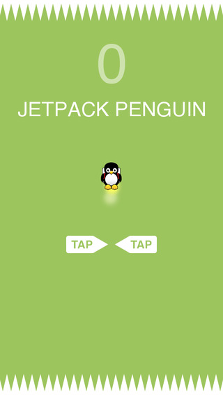 Jetpack Penguin - 避免尖峰