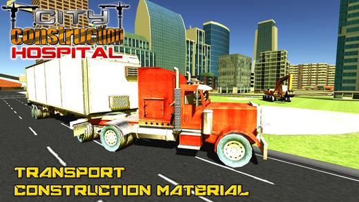 城市建设医院和建筑模拟器3d