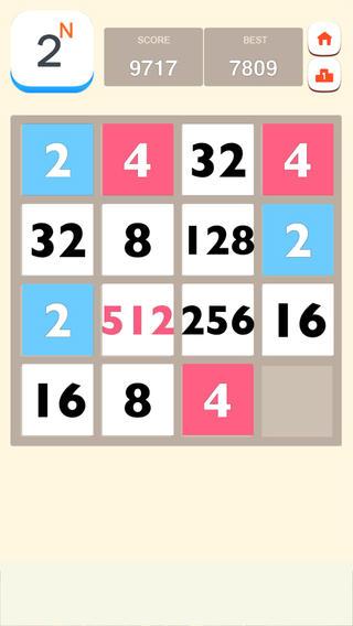 2的N次方 - 2048无尽版