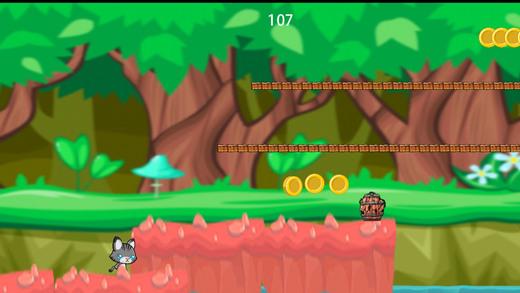 可爱的小猫猫丛林逃生