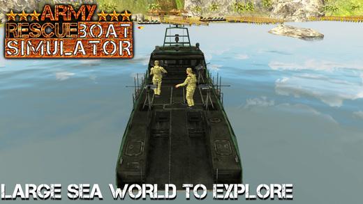 军队救援艇模拟器&911海岸紧急情况