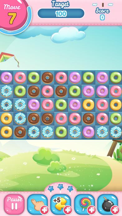 甜甜圈甜蜜游戏