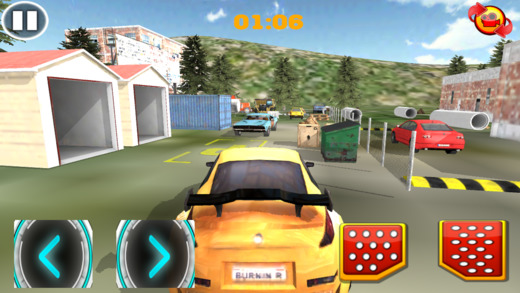 极限汽车越野驾驶和停车
