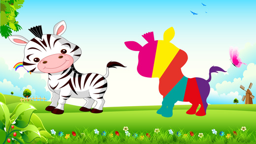 动物宝宝的益智游戏