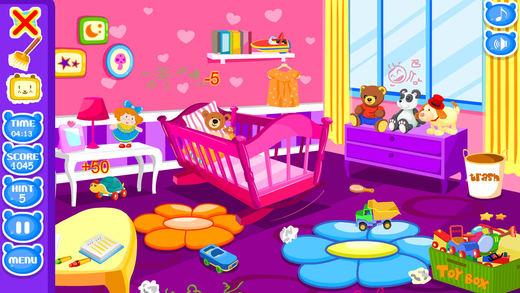 宝宝的房间打扫游戏