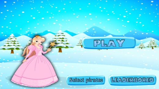 冷冻公主看到锯 - 快乐雪跳跃游戏 支付
