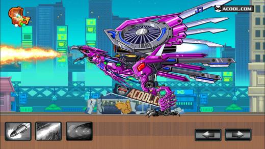 玩具机器人大战:机器老鹰
