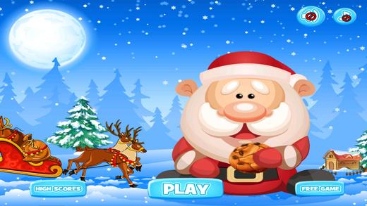 饿了圣诞老人 - 摇摆吃饼干 免费
