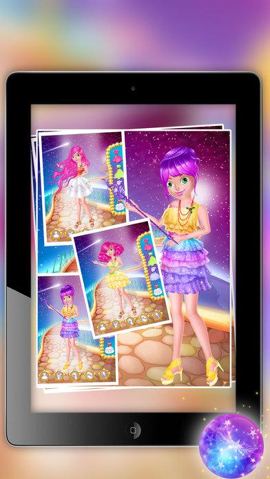 魔法公主婚礼女孩化妆与化妆游戏 - 美化女孩色彩缤纷的婚纱礼服