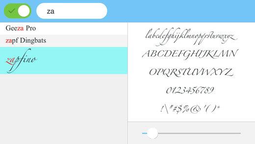 字体预览工具