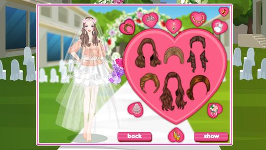 公主的新娘装扮