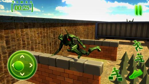 陆军机器人训练 - 超级大国英雄游戏