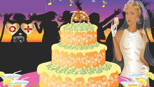 我的婚礼蛋糕装饰比赛