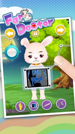 宠物农场医生 - 儿童游戏