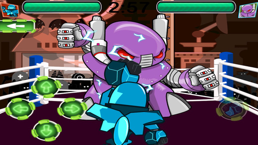 Rock'em机器人拳击手的MMA Pro