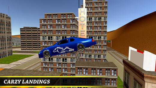 屋顶停车场3D - 极端的特技模拟器