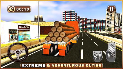 锯木厂卡车司机模拟器 - 货车驾驶模拟