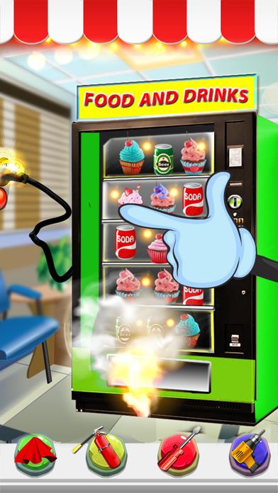 自动贩卖机修复 - 孩子修复它修理工游戏