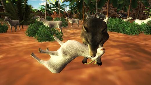 狼模拟器 - 终极动物生存