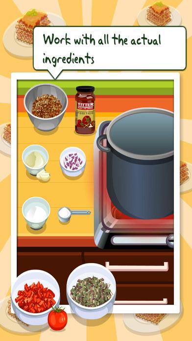 Tessa's cooking Lasagne – 学习如何烤你的黑森林Lasagne在这个烹饪游戏的孩子