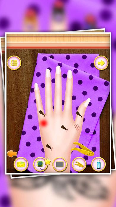 手纹身和水疗中心 - 小手医生 - 脚趾甲手术