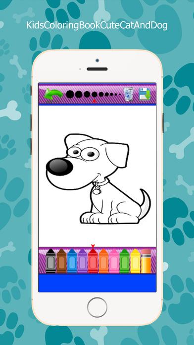 儿童图画书可爱的猫,狗