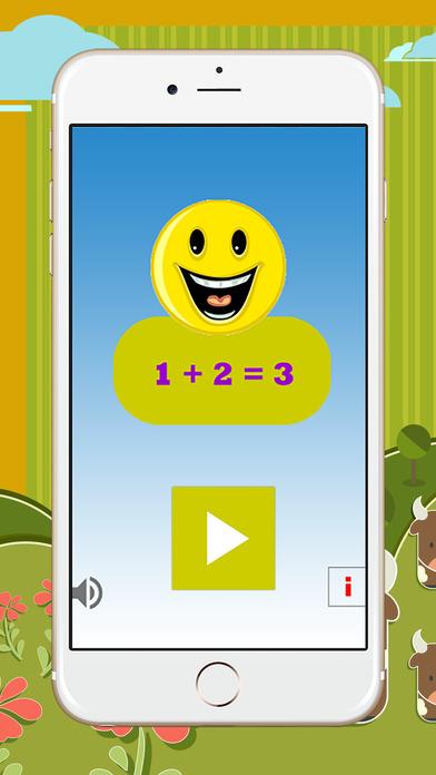 好玩的男孩和女孩的孩子的数学游戏教育