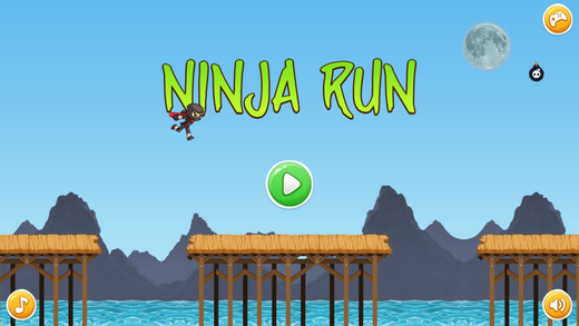 Ninja Hero Run Game - 经典儿童游戏