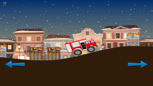 力拓的红色消防车 - 消防车救援临
